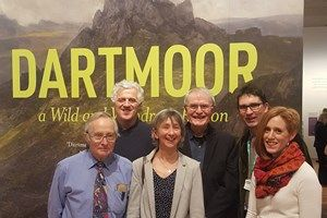 Private view of Dartmoor Wild and Wondrous exhibition