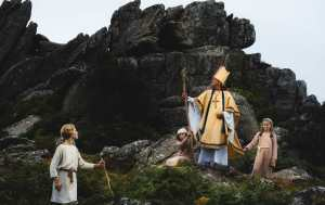 Bishop Stapledon on the tors of Dartmoor