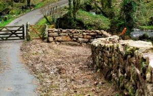 Walling at Babeny Farm