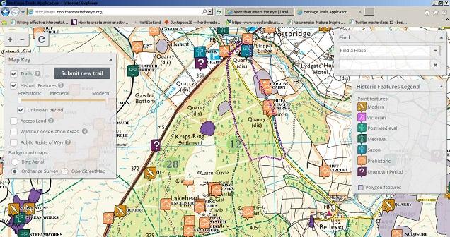 Heritage Trails Screenshot