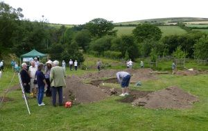 Archaeological dig to look for old manor house